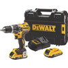 <p>Do you want to screw and drill in wood, stone, and metal, then an impact drill is what you are looking for. If you also want to work wirelessly, on a frequent and intensive basis, you'll need a drill like the DeWalt DCD796D2. This 18-volt 2.0Ah Li-ion cordless impact drill is the ideal drill for those looking for power and convenience. It's equipped with a powerful brushless motor which ensures increased efficiency and a long lifespan. Thanks to the Li-ion batteries, you enjoy wireless freedom, something you usually don't see with an impact drill. The LED lighting, 2nd battery, belt clip, and magnetic bit holder complete the DeWalt DCD796D2.</p>
