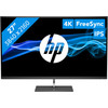 <p>The HP ENVY 27s is a 4K monitor suitable for image editing and graphical design. The Ultra HD resolution provides a higher pixel density on a 27-inch screen, allowing you to work out the smallest details of your design. With FreeSync technology, your AMD video card and your monitor co-operate better, so you won't be bothered by stuttering image while editing videos. The 99% coverage of the sRGB color space ensures a true-to-life display of colors. In addition, the IPS panel ensures a viewing angle of 178 degrees. With the included VESA mounting options adapter, attach the monitor to a wall mount, which you use to hang it on the wall.</p>