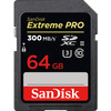 SanDisk SDXC Extreme Pro, 64 GB, 300 MB/s, C10 UHS-II