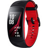 <p>The Samsung Gear Fit 2 Pro has a large screen, swim tracking, and is completely waterproof. The activity tracker recognizes all your activities and automatically registers your time and movements. Integrated sensors measure your heart rate, steps, speed, and distance. You can analyze your performance later on, using popular apps like Strava, Endomondo, or Runkeeper. On top of that, you can use the Gear Fit 2 Pro to listen to your favorite music wherever you go, since the tracker has 2GB of storage, which provides space for over 300 songs. You can view messages and incoming calls from your smartphone during your workout on your tracker's display.</p> <p><small>Note: an adapter isn't included. Do you want to charge the watch via a socket? If so, order an adapter separately.</small></p>