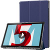 Just in Case Tri-Fold Book Case Huawei MediaPad M5 10/10 Pro Bleu