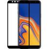 Azuri Tempered Glass Samsung Galaxy J4 Plus Screen Protector Glass Black