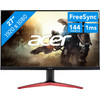 <p>The Acer KG271Cbmidpx is a 27-inch monitor for gamers who feel that speed is important. Thanks to the 1m response time and the 144Hz refresh rate, you can game blazing fast on this screen, without stuttering or lag. It's especially suited to fast shooters such as Battlefield 1 or games such as League of Legends. Tilt the monitor for an ideal sitting position while gaming. The monitor has an anti-glare panel, so you can see the image from practically every angle. Thanks to the integrated speakers, you don't need separate speakers next to your screen.</p>