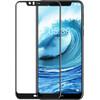 Azuri Tempered Glass Nokia 5.1 Plus Screen Protector Glass Black