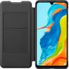 Huawei P30 Lite Flip Cover Book Case Black