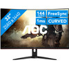 <p>Enjoy your favorite games on the AOC CQ32G1 gaming monitor. Thanks to the large 32-inch curved screen, the screen bends around you and intensifies your gaming experience. FreeSync techonology establishes synchronization between your AMD video card and the monitor, so you won't be bothered by stuttering images. Also when you're playing fast action games like shooters you get to enjoy smooth images, thanks to the 144Hz the refresh rate and the 1ms response time. The screen has a high resolution of 2560x1440 and an anti-reflective panel, so you won't get distracted by reflecting light during your killstreaks.</p>  <p><strong>Note:</strong> for QHD gaming, you need a powerful video card, such as an NVIDIA GeForce RTX GPU or AMD Radeon RX 5000 series GPU, an Xbox One, Xbox Series X or S, or a PlayStation 5.</p>