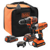 Black & Decker BCK21S2S-QW Ensemble combiné