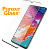 PanzerGlass Fall freundlich Samsung Galaxy A70 Displayschutzfolie Glas Schwarz