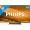 <p>With the Philips 55PUS7504, your favorite movies are displayed sharply and colorfully. This 4K TV gives you access to the Android smart platform. Using a clear menu, you can quickly switch between live TV, games, websites, and useful apps. Thanks to the versatile HDR support, you can get more out of the image quality of HDR movies from Blu-rays or Netflix, for example. The TV effortlessly displays HDR10, HDR10+, and Dolby Vision images, so you'll see more color nuances and bright shades in a field of flowers or an ocean. The three-sided Ambilight backlight makes your viewing experience extra realistic. This lights light up the wall behind the TV in the colors of the image.</p>
