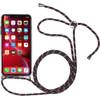 StilGut iPhone Xr Back Cover met Koord Transparant