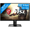 <p>De MSI Optix MAG251RX is a gaming monitor with a high refresh rate of 240Hz. Together with the 1-millisecond response time, this ensures smooth images, without ghosting. The Optix MAG251RX has Freesync and is G-sync Compatible. Because of this, the refresh rate of your monitor matches the frames per second of your NVIDIA of AMD video card. The refresh rate of 240Hz can only be achieved by overclocking your monitor. In addition, the monitor has an HDR400 certification, making color displays more beautiful than ever. Whichever game you play, it will always look nice and smooth on your MSI screen.</p>