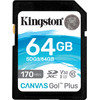Kingston Canvas Go Plus 64 Go