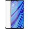 2x Azuri Rinox Oppo A9 (2020) Screenprotector Gehard Glas Zwart