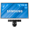 Samsung Flip 2 65 inches with Wall Mount