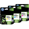 HP 933XL Cartridges Combo Pack