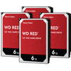 WD Red WD60EFAX 6TB 4-pack - RAID 0, 1, 5, 6 of 10