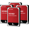 WD Red WD80EFAX 8TB 4-pack - RAID 0, 1, 5, 6, or 10