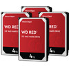 WD Red WD40EFAX 4TB 4-pack - RAID 0, 1, 5, 6 of 10