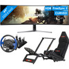 Samsung LC49RG90SSUXEN + F-GT Racing Cockpit + Thrustmaster T150 RS Pro Racing Wheel