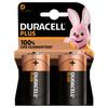 Duracell Alka Plus D batterijen 2 stuks