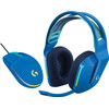 Logitech G733 Lightspeed Wireless Gaming Headset Blue + Logitech G203 Gaming Mouse