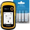 Garmin eTrex10 + Veripart Oplaadbare NiMH AA-batterijen 4 stuks