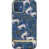 Richmond & Finch Blue Leopard Apple iPhone 12 / 12 Pro Back Cover