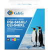 G&G PG-545XL/CL-546XL Cartridges Combo Pack
