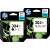 HP 304XL Cartridges Combo Pack