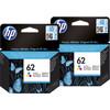 HP 62 Cartridges Kleur Duo Pack