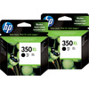 HP 350XL Cartridges Black Duo Pack