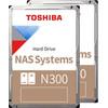 Toshiba N300 NAS Hard Drive 4TB Duo Pack
