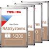 Toshiba N300 NAS Hard Drive 4TB 4-Pack