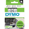 DYMO Authentieke D1 Labels Zwart-Wit (9 mm x 7 m)