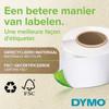 DYMO Authentieke LabelWriter Kleine Naambadge Label Wit (41 mm x 89 mm)