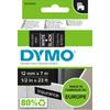 DYMO Authentieke D1 Labels Zwart-Wit (12 mm x 7 m)