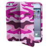 Muvit Agenda Case Apple iPhone 5C Pink Camo