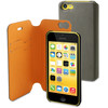 Muvit Magic Folio Case Apple iPhone 5C Grey/Orange