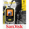 verpakking Sansa Clip Sports 8GB geel