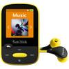 voorkant Sansa Clip Sports 8GB geel