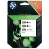 HP 300 Combo Pack 4-Color (SD518AE)