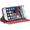 onderkant Leather Wallet Apple iPhone 6/6s/7 Rood