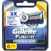 6x Gillette Fusion ProGlide Scheermesjes