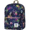 100% Sugar Sweet Double Backpack Blue Tropical