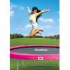product in gebruik Beschermrand 244 cm Roze
