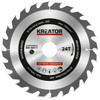 Kreator Saw Blade for Wood 190x30x2.2mm 24T