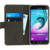 binnenkant Gelly Wallet Book Galaxy J3 (2016) Zwart
