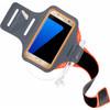 Mobiparts Comfort Fit Sportarmband Samsung Galaxy S7 Oranje