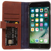 Decoded Leather Wallet Case Apple iPhone 7 Plus/8 Plus Bruin