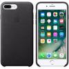 product in gebruik Apple iPhone 7 Plus Leather Case Zwart